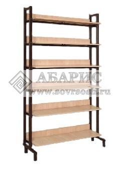 Шкаф-стеллаж односторонний каркасный