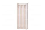 Вешалка для полотенец навесная 3 секции