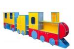 Стенка детская модульная для игрушек и пособий ВЕСЕЛЫЙ ПАРОВОЗ