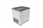 Морозильный ларь GELLAR FG 200 C / 240л, Прямое стекло, 810х600х850мм, 3 корзины, колеса, замок