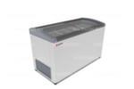 Морозильный ларь GELLAR FG 550 E / 473л, Гнутое  стекло, 1410х650х850мм, 6 корзин, колеса, замок