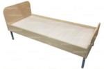 Кровать детская 1-уровневая на металлических опорах