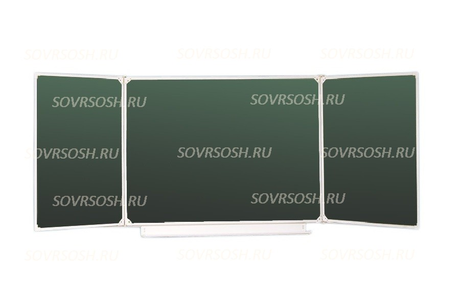 Доска настенная трехэлементная МЕТАЛЛИЧЕСКАЯ (толщина 16 мм)