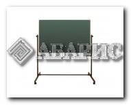 Доска напольная поворотная для письма мелом и маркером 1500х1000 мм (Комби)