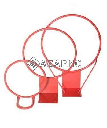 Кольцо баскетбольное №7 (пруток 16мм) вандалоустойчивое-усиленн. б/сетки диам.450мм