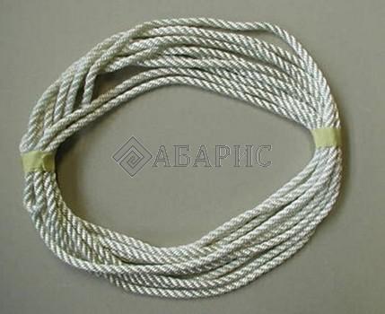Веревка (100 м, диаметр 3,2 мм) цвет белый