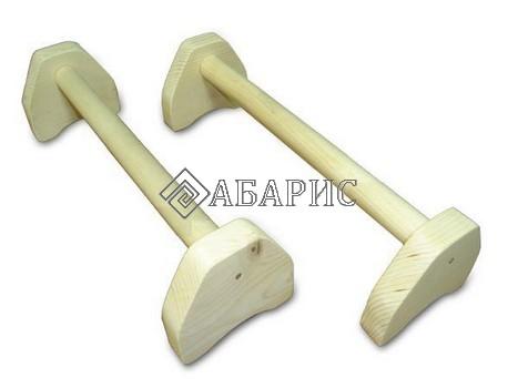 Стоялки напольные деревянные 500мм (пара)