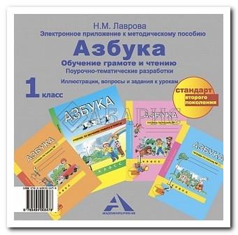 Агаркова (Перспективная начальная школа) Азбука 1 Класс Электронное приложение (диск) (ФГОС)
