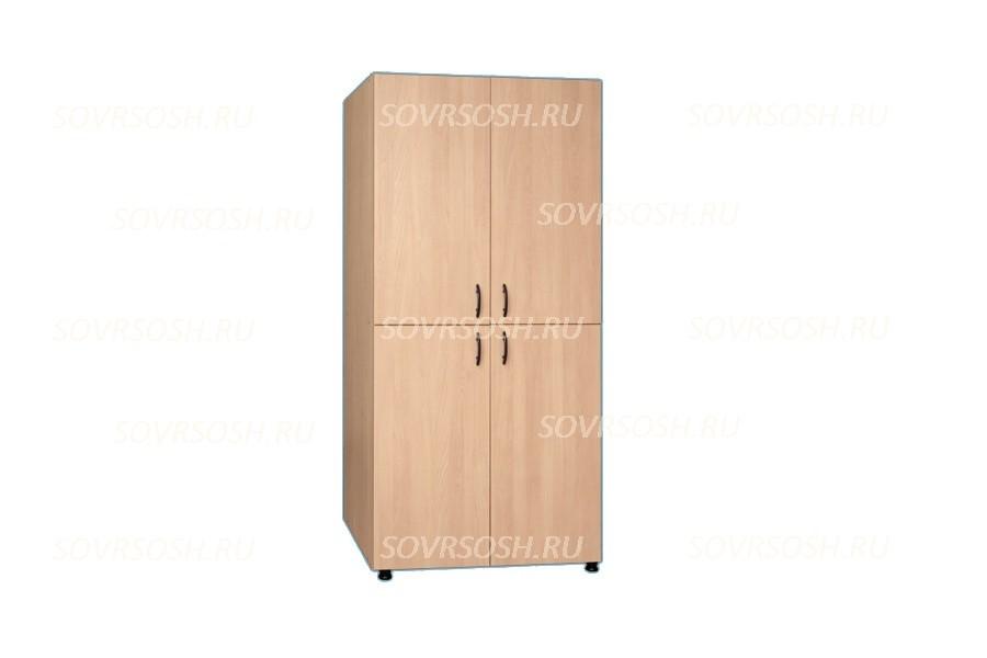 Шкаф секционный с закрытым верхом (844х440х2100 мм)