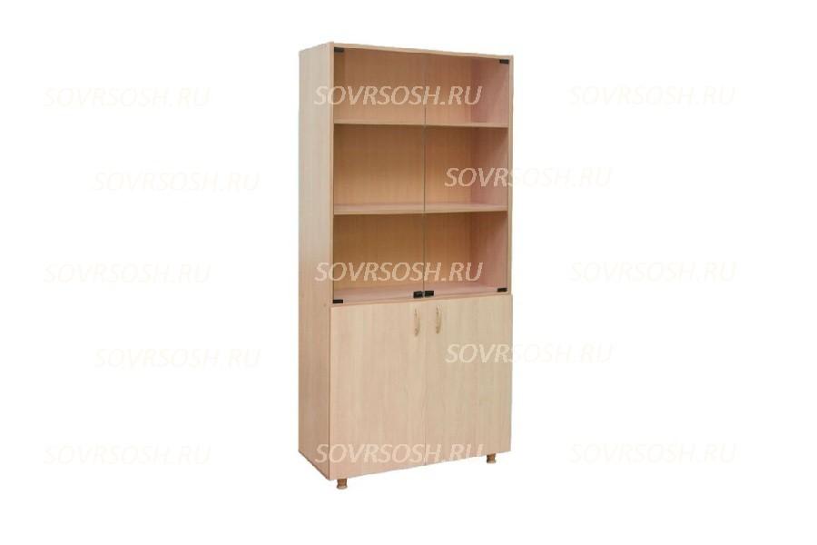 Шкаф со стеклом (849х376х1835 мм)