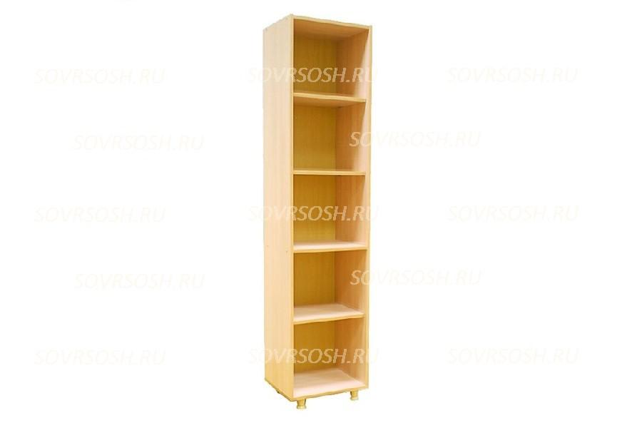 Шкаф стеллаж узкий (425х360х1835 мм)