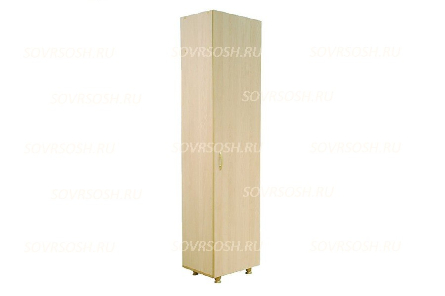 Шкаф узкий одностворчатый (425х376х1835 мм)