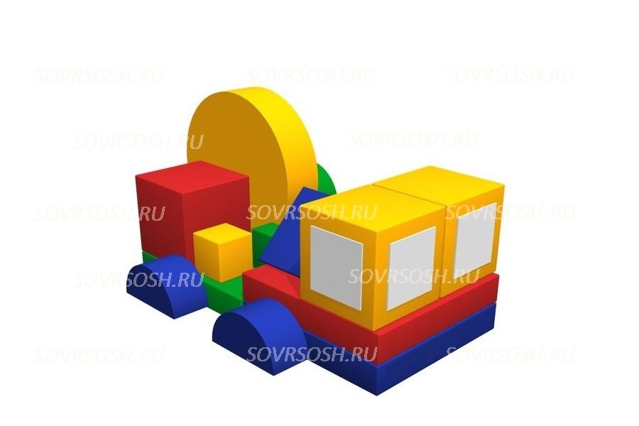 Набор мягких модулей Автофургон (15 элементов)