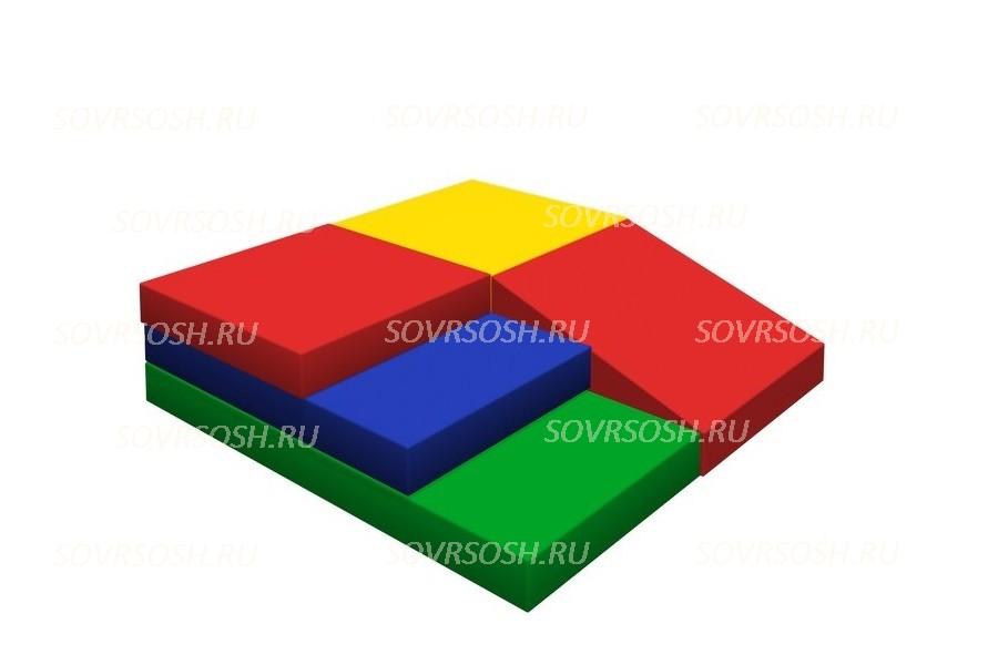 Мягкий спортивный модуль Гора (5 элементов)