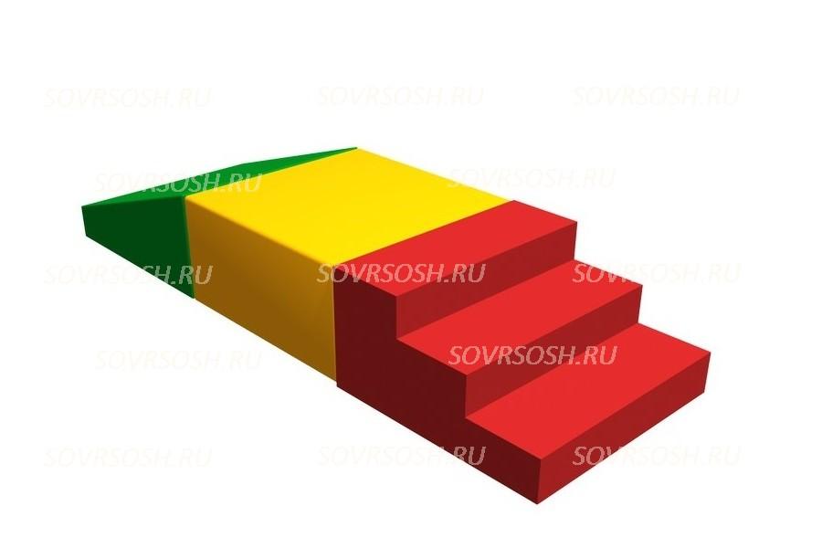 Мягкий спортивный модуль Лесенка (3 элемента)