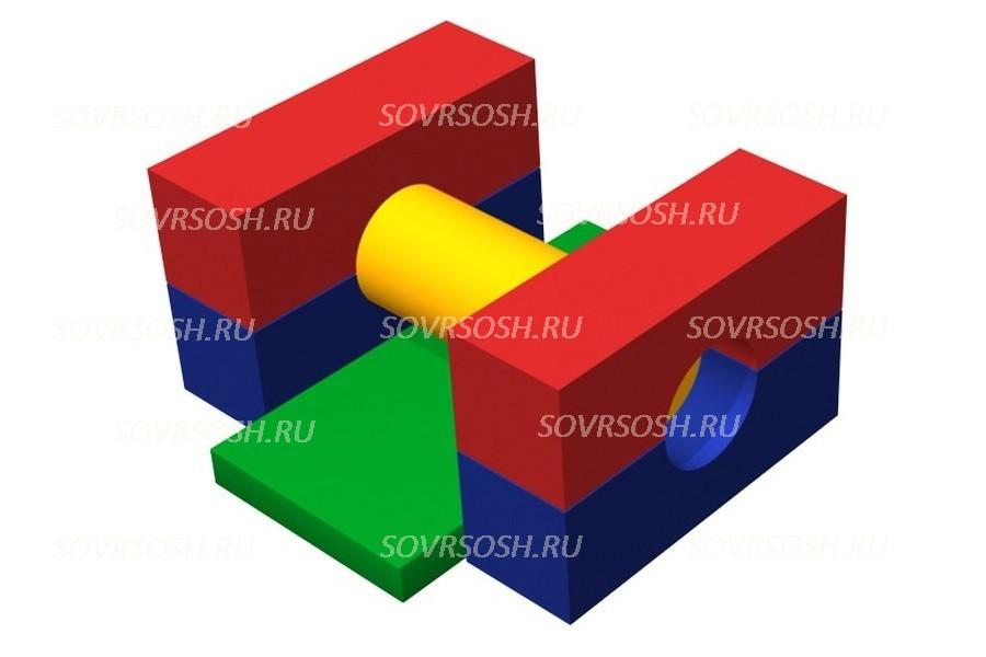 Мягкий спортивный модуль Преграда (6 элементов)