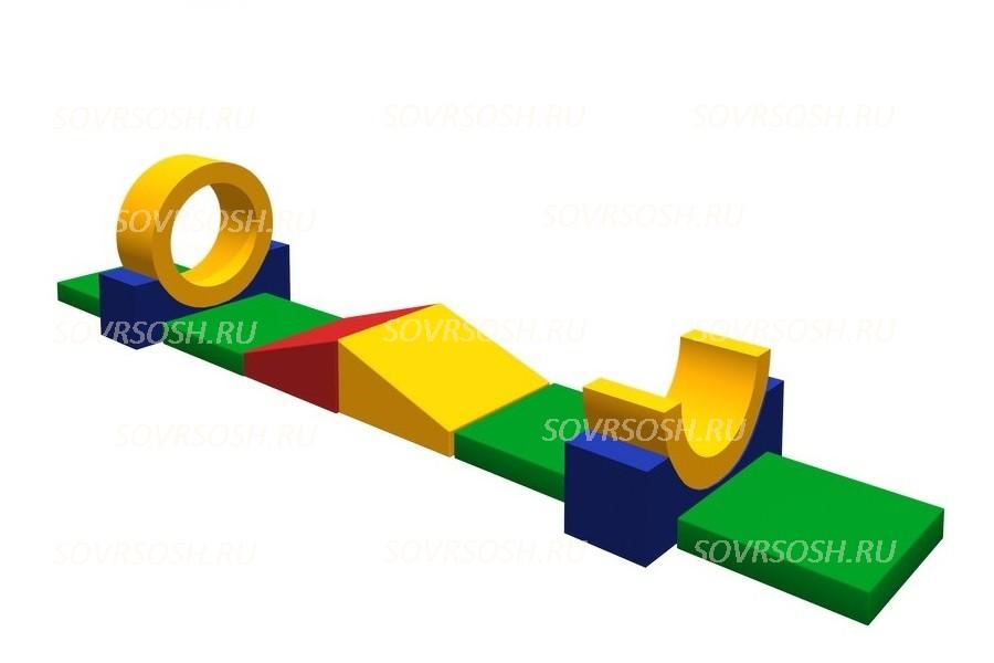 Мягкий спортивный модуль Тропинка (10 элементов)