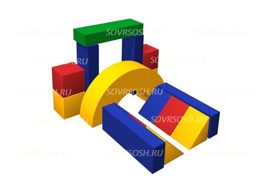 Конструктор из мягких модулей Тоннель (16 элементов)