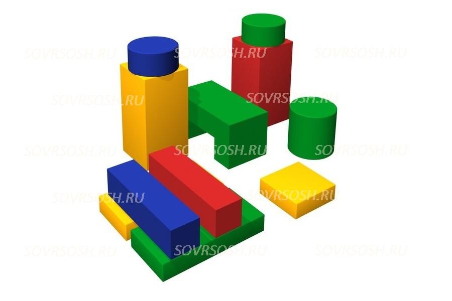 Конструктор из мягких модулей Фабрика (11 элементов)