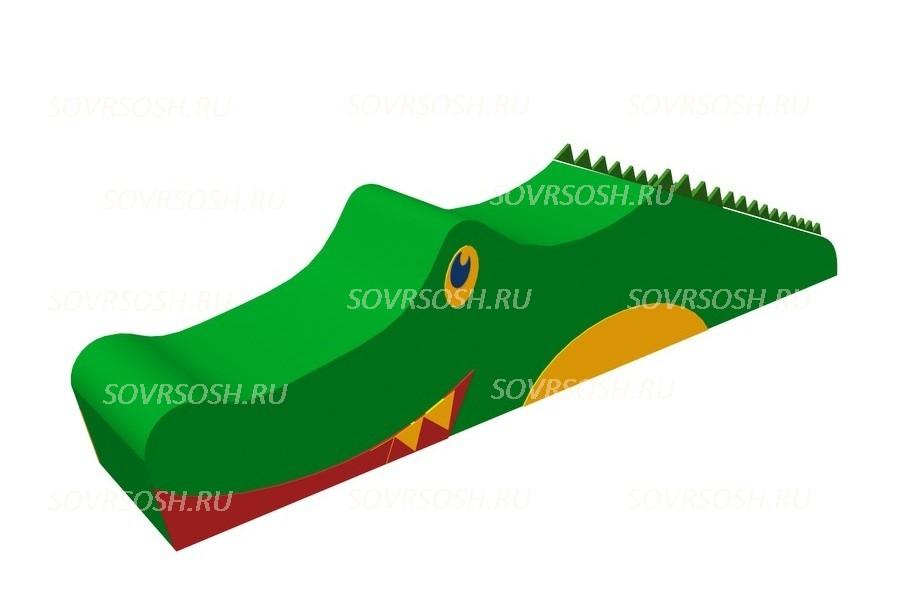 Мягкий модуль игровой Крокодил