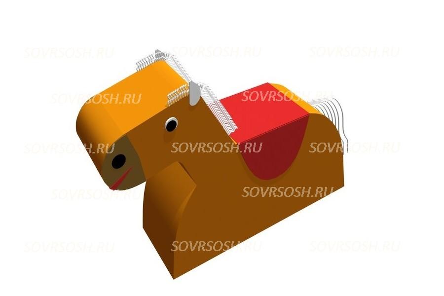 Мягкий модуль игровой Лошадка