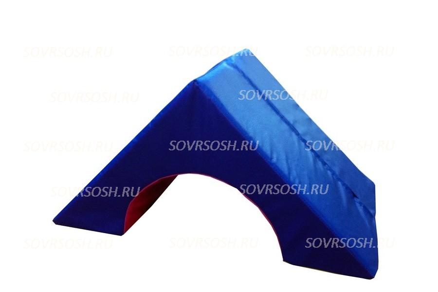 Мягкий модуль игровой Арка треугольная (диаметр 34 см)