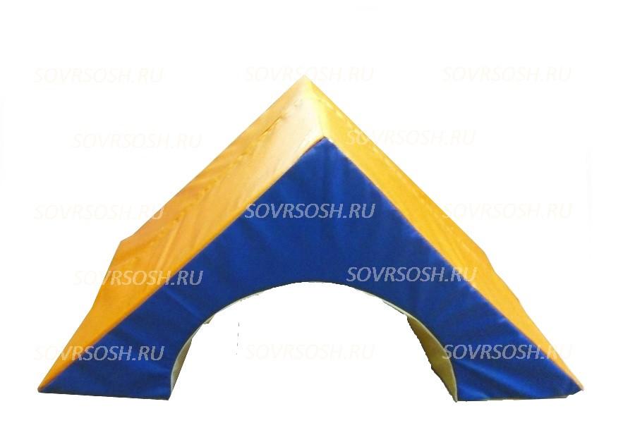 Мягкий модуль игровой Арка треугольная (диаметр 40 см)