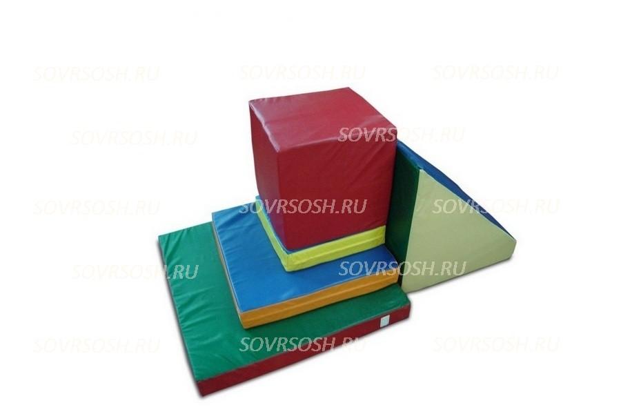 Набор мягких модулей для спорта Горка (5 элементов)