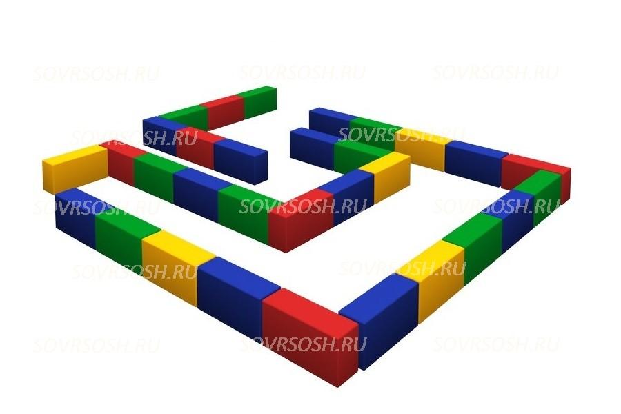 Набор мягких  модулей Лабиринт (мини)