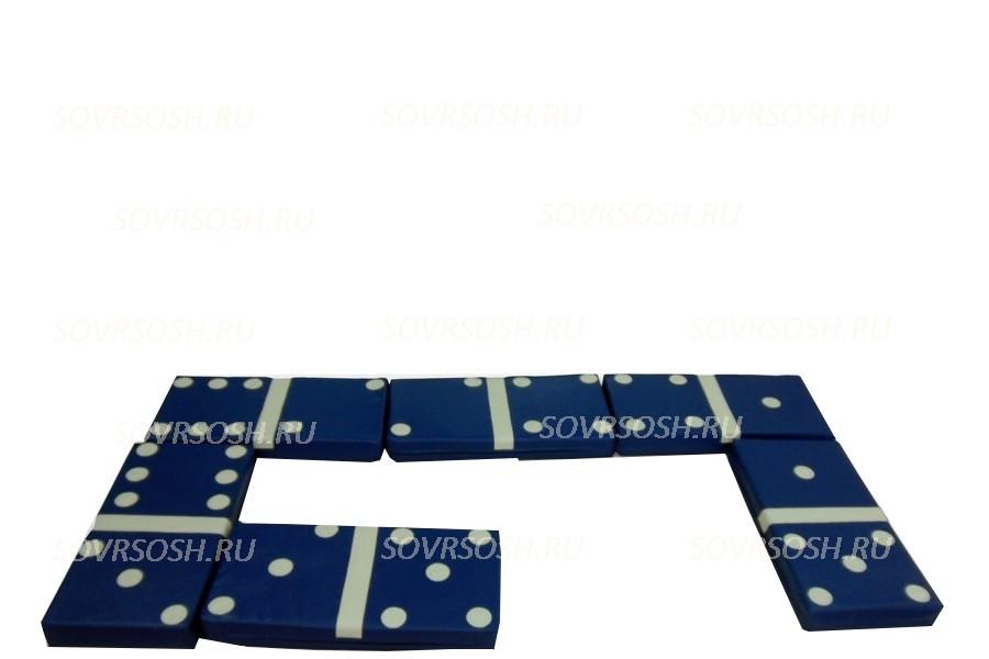 Дидактический мягкий модуль Домино (6 элементов)