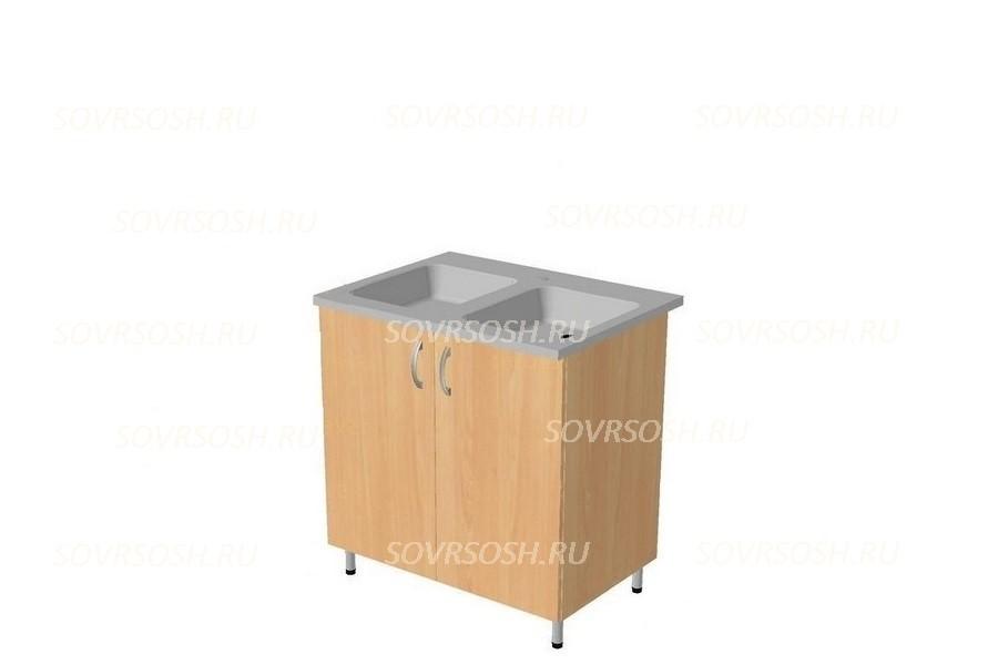 Модуль КГ БЕЛАВА (стол-мойка, фасады МДФ)
