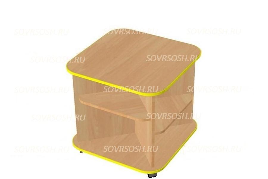 Модуль дидактической мебели ЗЕМЛЯНИЧКА (стол-квадрат)