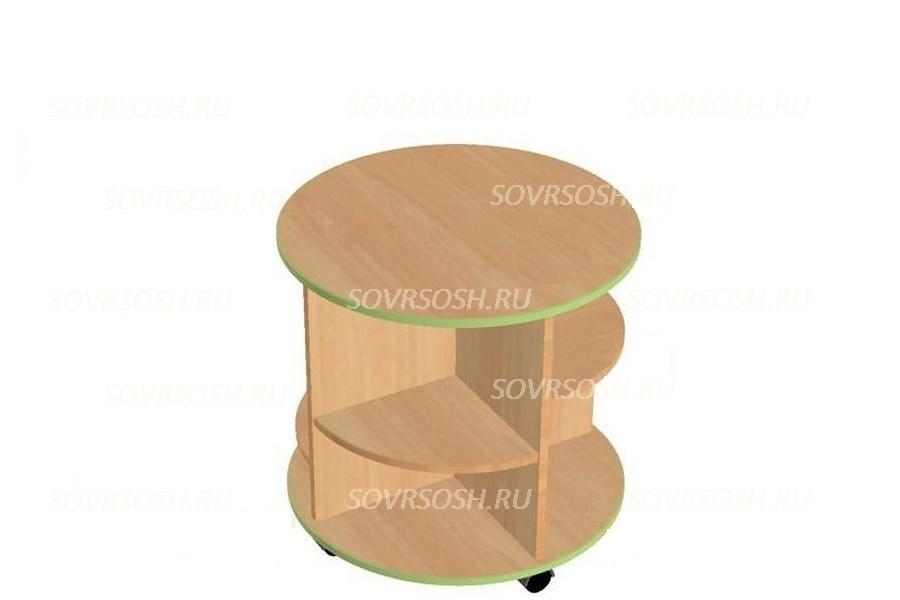 Модуль дидактической мебели ЗЕМЛЯНИЧКА  (стол-круг)