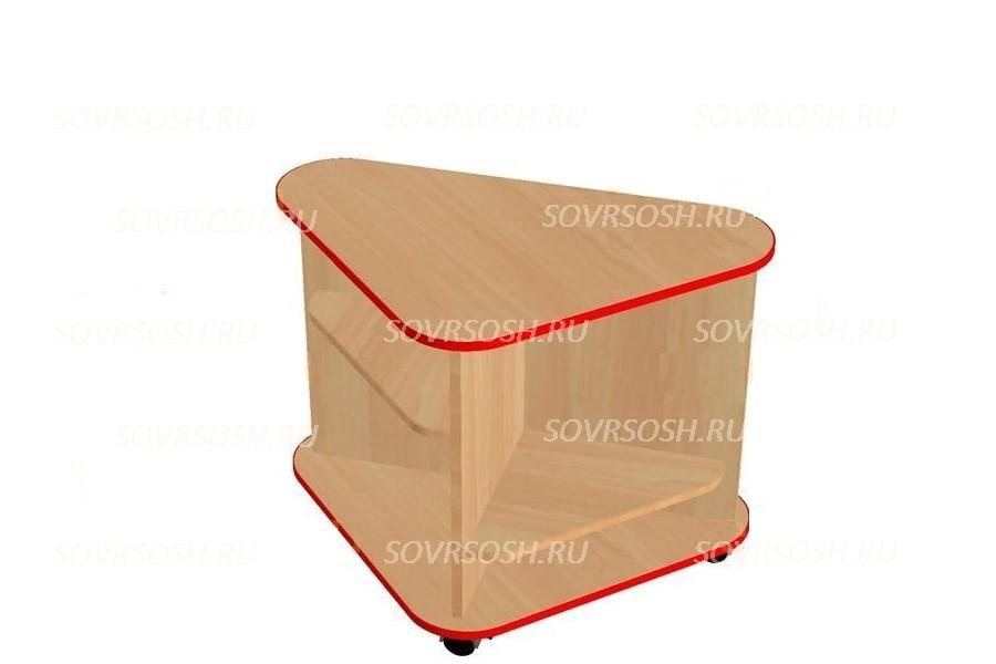 Модуль дидактической мебели ЗЕМЛЯНИЧКА (стол-треугольник)