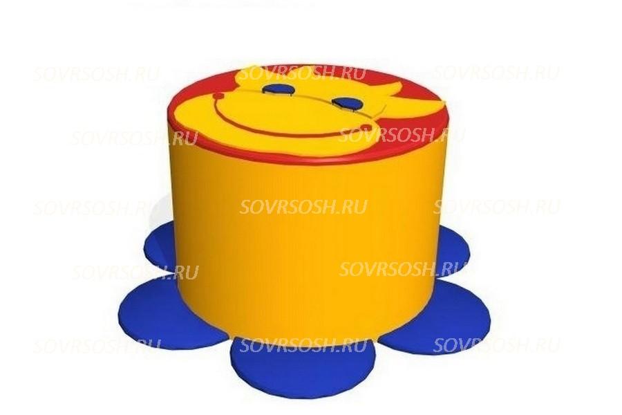 Мебель детская игровая мягкая КОРОВА пуф