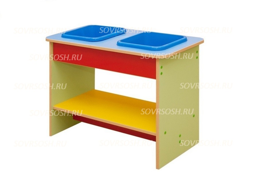 Мебель детская игровая ПЕСОК И ВОДА