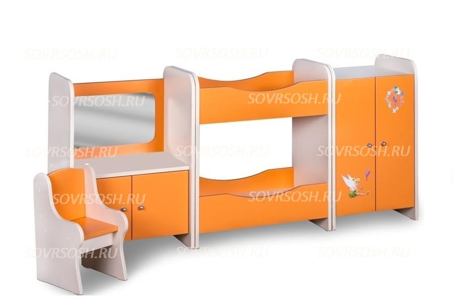 Мебель детская игровая СПАЛЬНЯ НАСТЕНЬКА