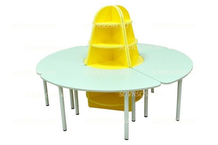 Дидактический набор мебели РОМАШКА
