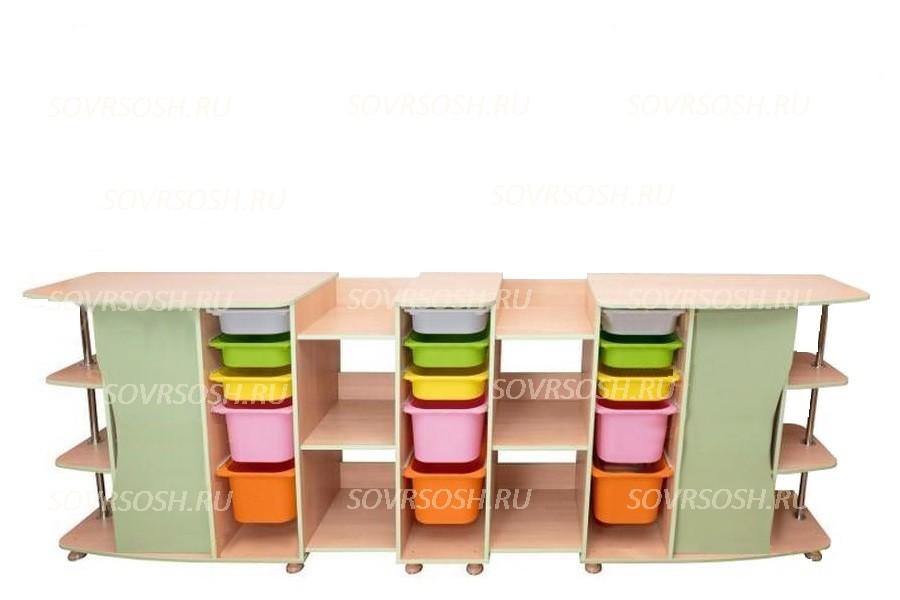 Мебель для конструирования РОБИК модульные стеллажи