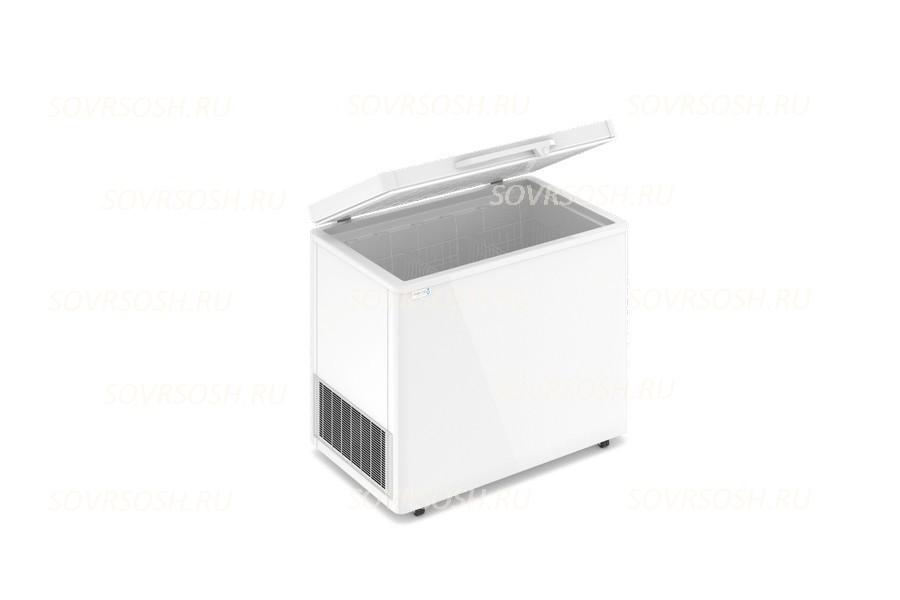 Морозильный ларь F 300 S / 300л, Глухая крышка, 1000х600х820мм, 1 корзина, колеса