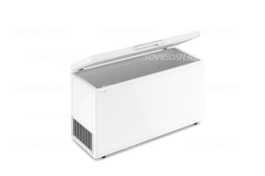 Морозильный ларь F 600 S / 510л, Глухая крышка, 1600х600х820мм, 3 корзины, колеса