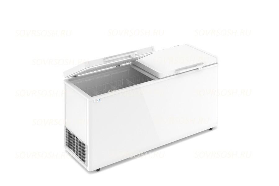 Морозильный ларь F 700   SD / 580л, Двойная глухая крышка, 1800х600х820мм, 4 корзины, колеса