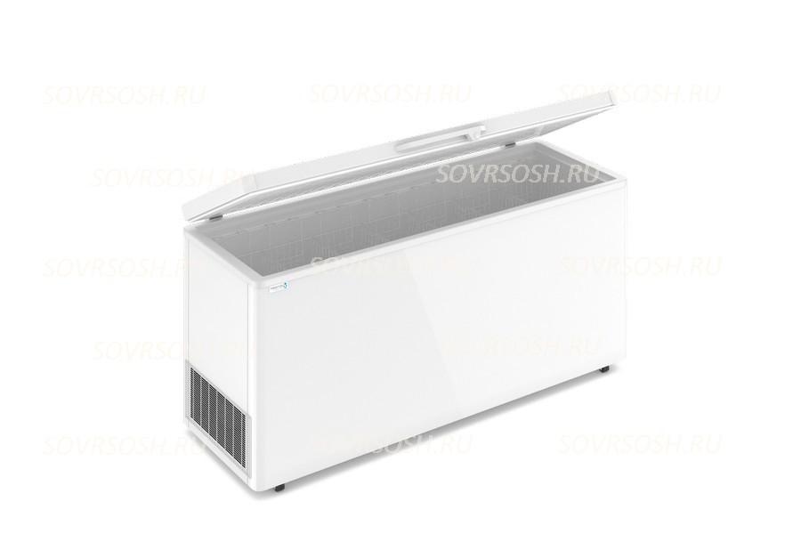 Морозильный ларь F 700 S / 580л, Глухая крышка, 1800х600х820мм, 3 корзины, колеса