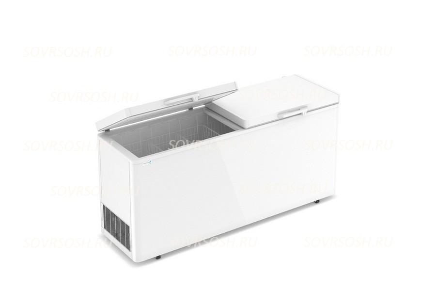 Морозильный ларь F 800   SD / 650л, Двойная глухая крышка, 2000х600х820мм, 4 корзины, колеса