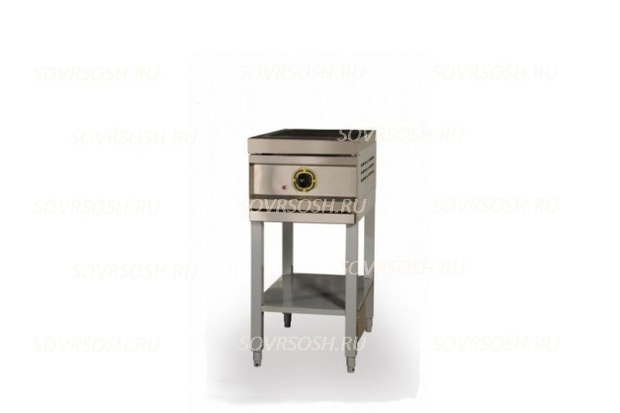 Плита электрическая 1-конфорочная без жарочного шкафа ПЭ-1 / 3кВт, 220/380В /вся нержавейка