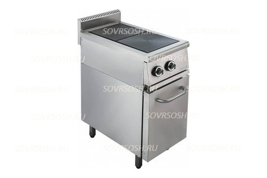 Плита электрическая 2- конфорочная с жарочным шкафом ПЭ-722ДН / 5,5кВт, 380В / вся нержавейка