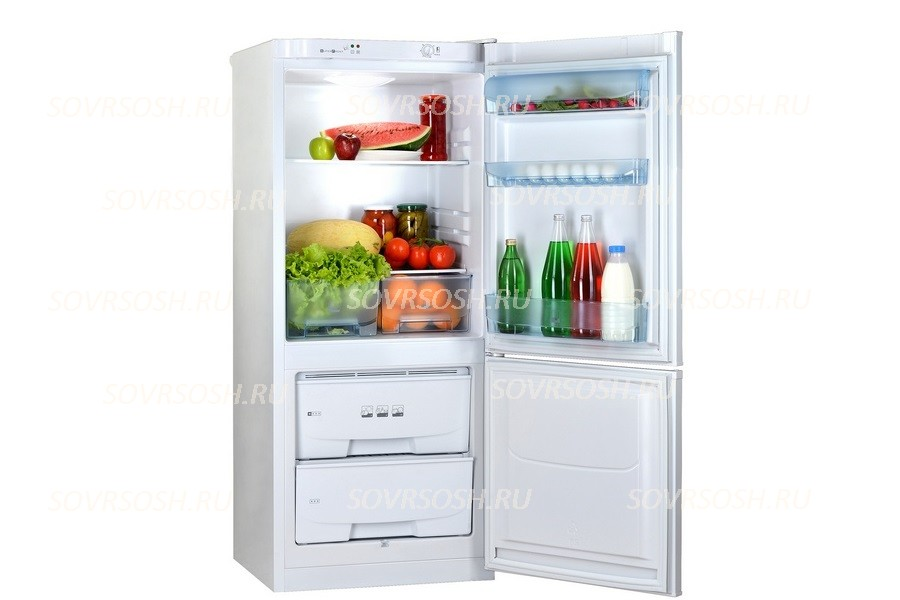 Холодильник двухкамерный Pozis RK-101 / 250л, 600х630х1460мм