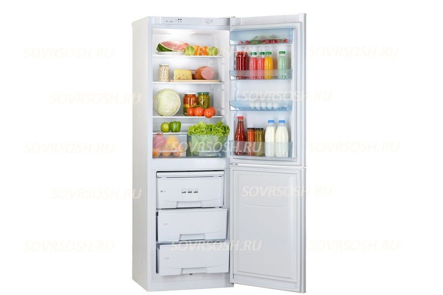 Холодильник 2-камерный Pozis RK-139 / 335л, 600х630х1850мм
