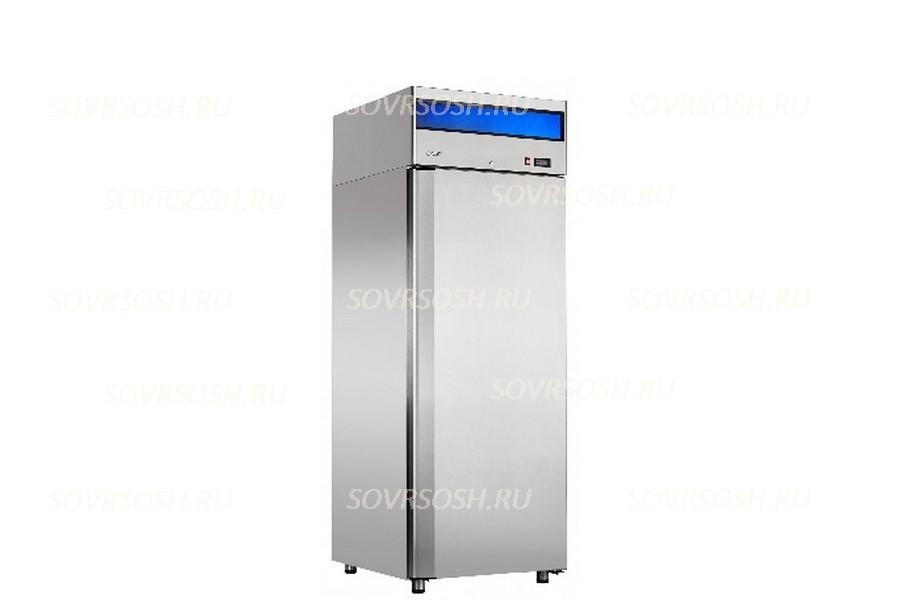 Шкаф морозильный ШХн-0,5-01 нерж.  / 520л, 700х690х2050 мм, -18