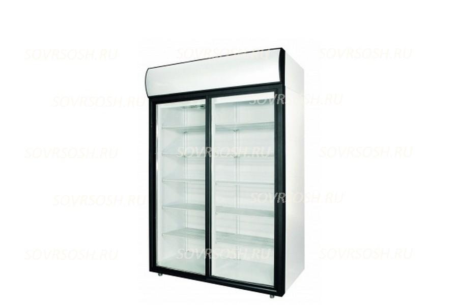 Шкаф холодильный DM114Sd-S / 1400л, 1402x2028x854 мм, +1…+12